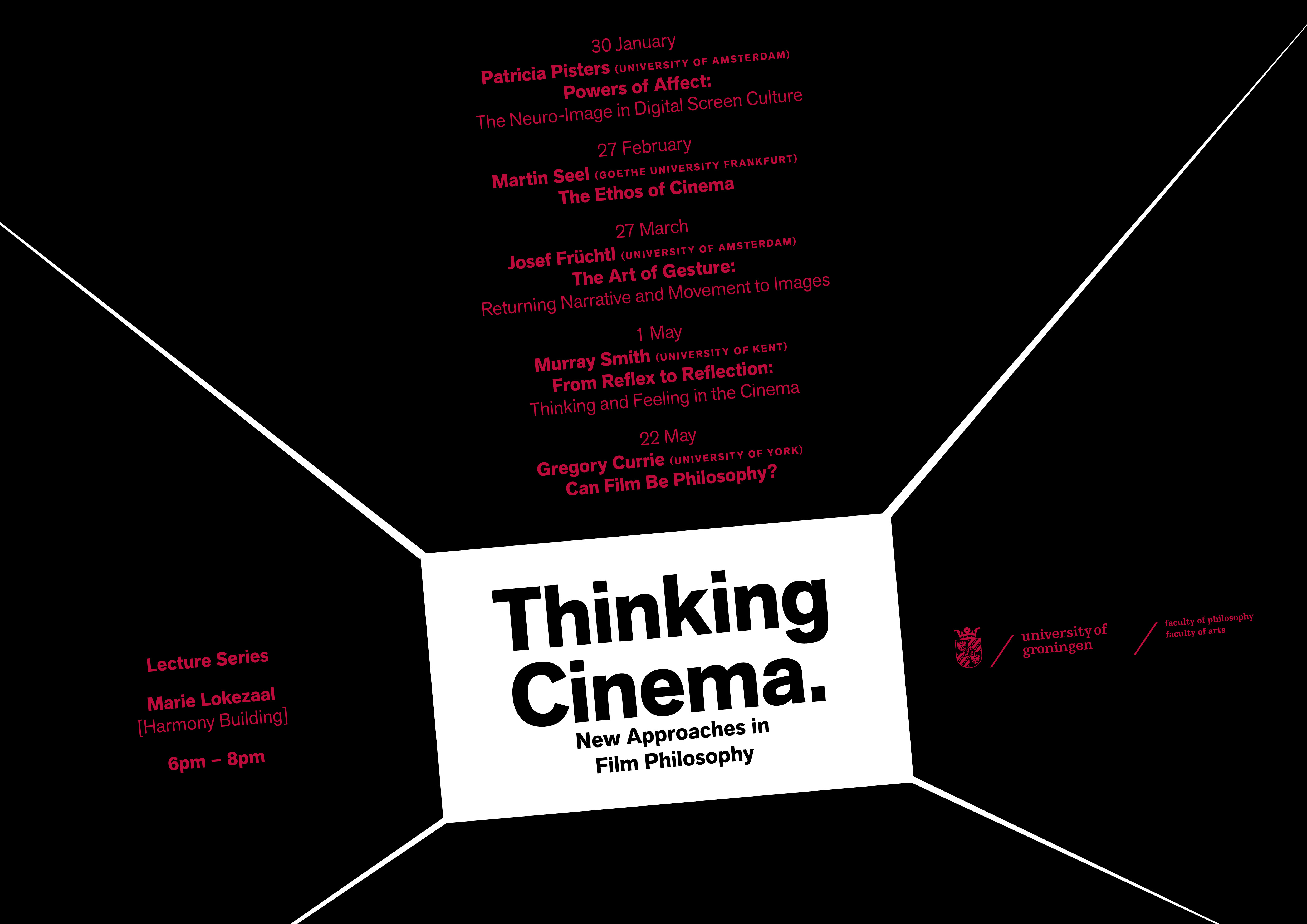 Thinking Cinema New Approaches In Film Philosophy