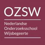 Logo OZSW wit op rood 400x400